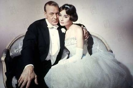 Arianne, con Gary Cooper y Audrey Hepburn