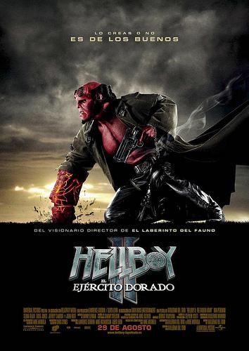 Poster Hellboy 2 en España