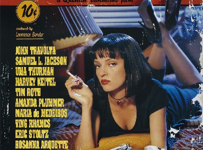 Pulp Fiction, una portada de cine negro