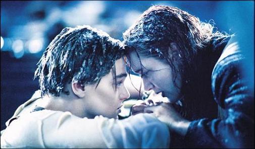 Leonardo y Kate en Titanic