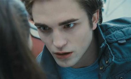 Crepúsculo, con Robert Pattinson