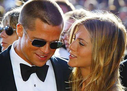 Brad Pitt y Jennifer Anniston