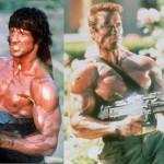 Stallone y Schwarzenegger, al fin juntos