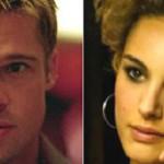 Natalie Portman y Brad Pitt juntos