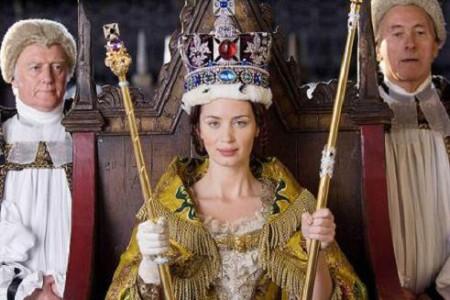 La reina Victoria, con Emily Blunt