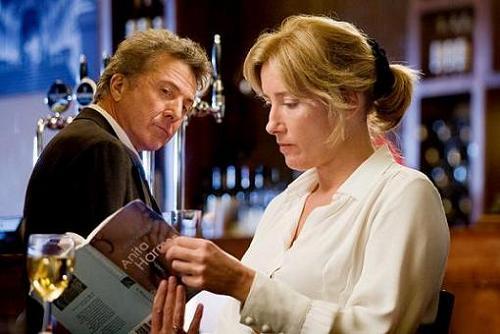 Nunca es tarde para enamorarse, con Dustin Hoffman