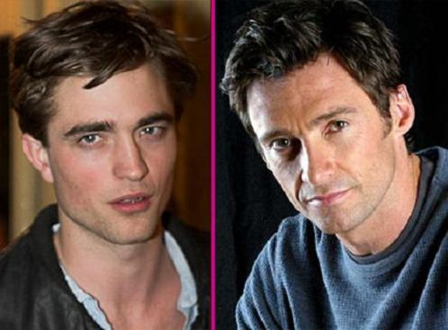 Hugh Jackman y Robert Pattinson