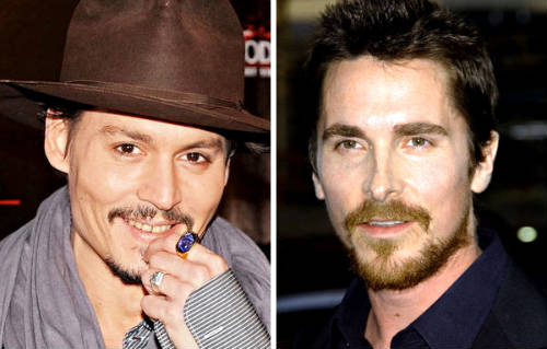 Johnny Depp & Christian Bale