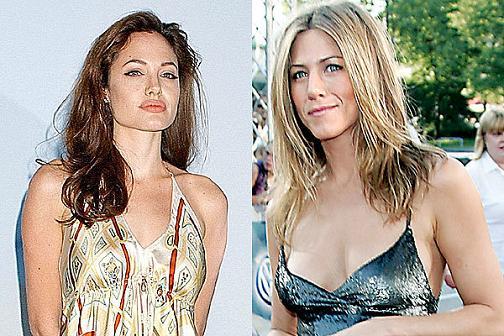 Angelina Jolie y Jennifer Aniston