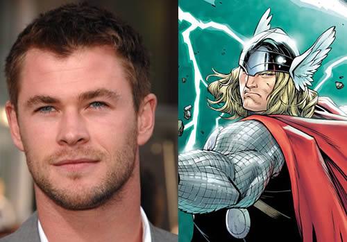 Chris Hemsworth sera Thor