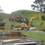 Problemas en la construcción del set de El Hobbit