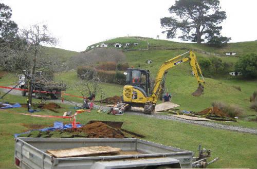 Construcción de la comarca hobbit