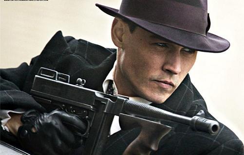 Johnny Depp es John Dillinger