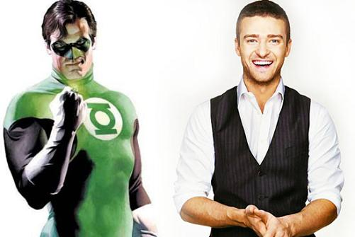 Justin Timberlake es demasiado bueno para ser Linterna Verde