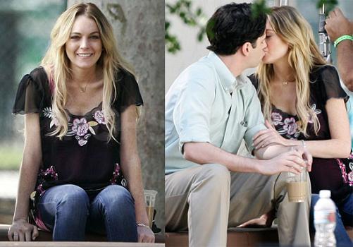 Lindsay Lohan en Un trabajo embarazoso
