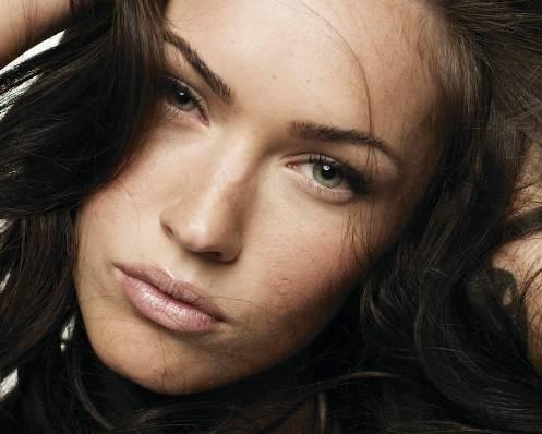 Megan Fox, primer plano