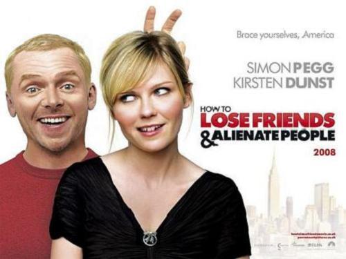 Simon Pegg y Kirsten Dunst en Nueva York para principiantes