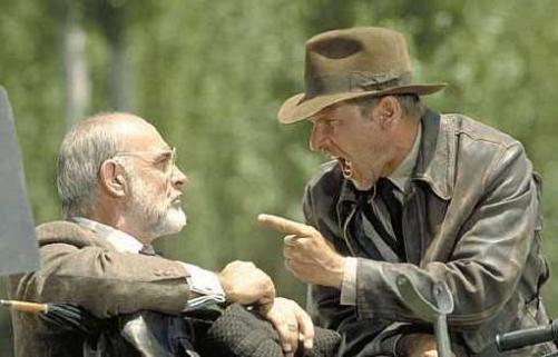 Henry Jones e Indiana Jones