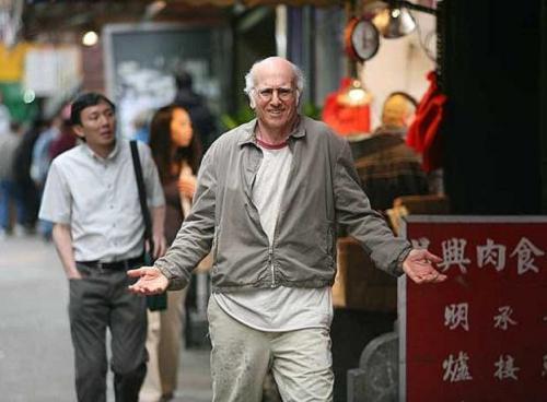 Larry David en Si la cosa funciona, la nueva pel�cula de Woody Allen