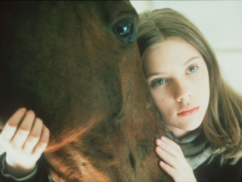 Scarlett Johansson antes de su cirugias