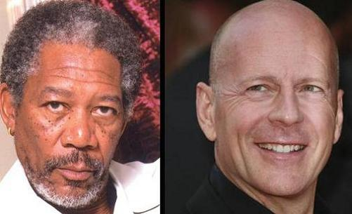 Bruce Willis y Morgan Freeman estarán en Red