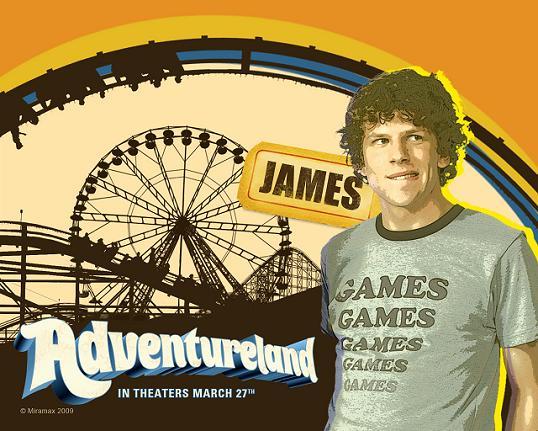 Jesse Eisenberg en Adventureland
