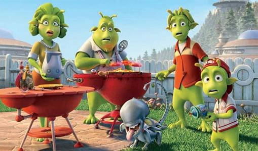 Un domingo en familia en Planet 51