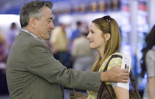 Robert De Niro y Drew Barrymore