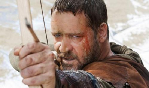 Russell Crowe es el nuevo Robin Hood