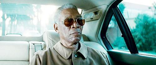 Mrogan Freeman es Nelson Mandela