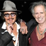 Johnny Depp y su biopic sobre Keith Richards