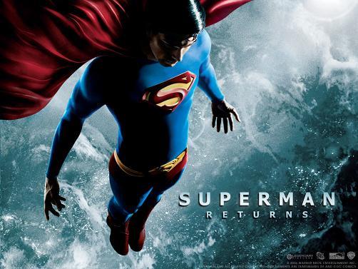 Brandon Routh en Superman Returns