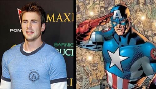 Chris Evans sera el nuevo Capitan America