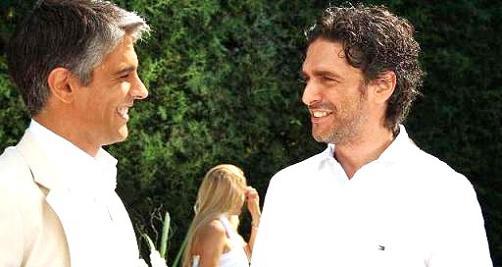 Pablo Echarri y Leonardo Sbaraglia
