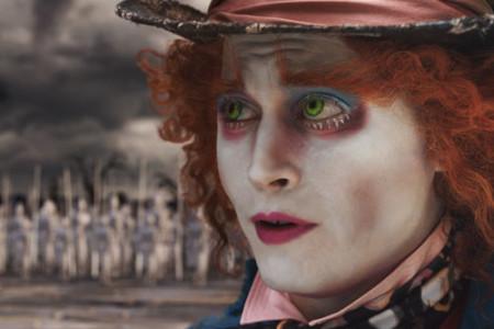 Johnny Depp y Alicia en el País de las Maravillas