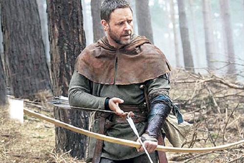 Russell Crowe es Robin Hood