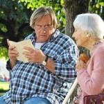 Mis tardes con Margueritte, con Gérard Depardieu
