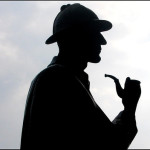 Sherlock Holmes y su juego de sombras