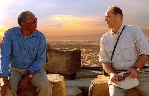 Jack Nicholson y Morgan Freeman