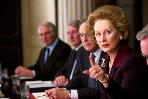 La Dama de Hierro, Meryl Streep, Margaret Thatcher