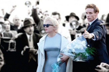 Mi semana con Marilyn, con Michelle Williams