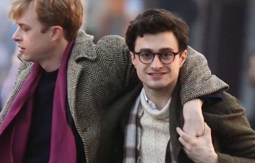 Allen Ginsberg, Daniel Radcliffe, Generación Beat, Jack Kerouac, William Burroughs