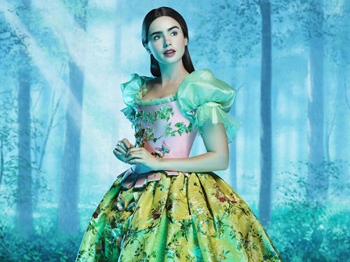 Blancanieves, Lily Collins, Julia Roberts
