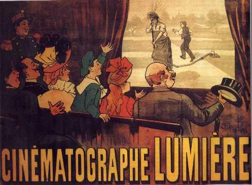 Hermanos Lumiere, cinematógrafo