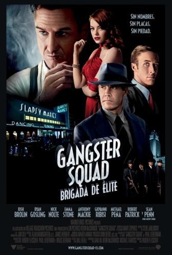 Cartel de Gangster Squad