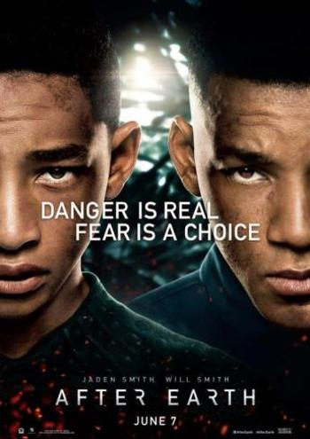 Cartel de After Earth