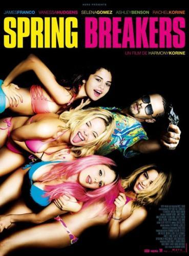 Cartel de Spring Breakers
