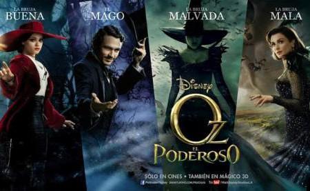 Oz, un mundo de fantasía: próximo estreno