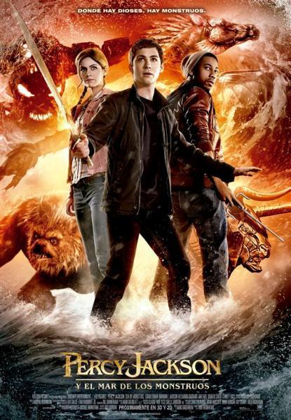 Poster de Percy Jackson 2