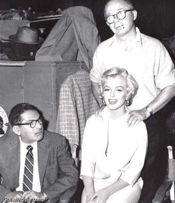 Billy Wilder y Marilyn Monroe